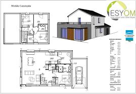 plans de cuisines maison a cote meuble cuisine plans deconception plan maison avec