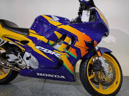 honda cbr 600 yellow 1997 honda cbr600 f3 blue yellow motor bikes canton ohio mc222