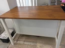 kitchen island unit ikea stenstorp freestanding kitchen island unit in harrogate