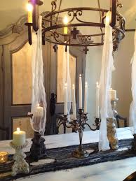thedecoratingduchess com halloween dining room table setting