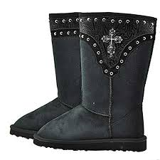 womens boots like uggs 27 best ugg style boots rhinestone bling