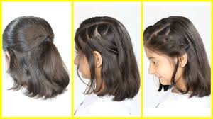 easy party hairstyles for medium length hair 3 simple u0026 cute hairstyles new for short medium hair