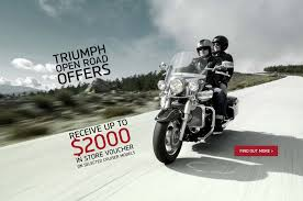 triumph motorcycles devoted to riding triumph motorcycles