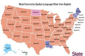 usa california map language map what s the most popular language in your state