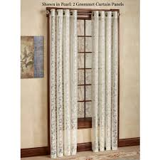 Drapes With Grommets Royal Lace Grommet Curtain Panels