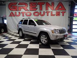 silver jeep grand cherokee 2007 jeep grand cherokee laredo 4 7 for sale used cars on buysellsearch
