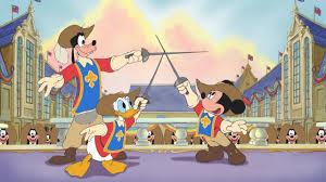 mickey donald goofy musketeers blu ray u0026 dvd review