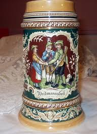 germany large vintage stein weidmannsheil and 50 similar items