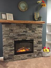 so much fun diy airstone electric fireplace ambroise maple