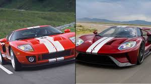 old ford cars ford gt old vs new can the older model keep up