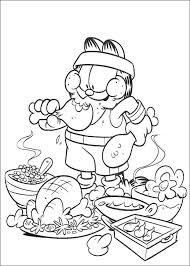 coloriage ustensiles de cuisine coloriage dessins garfield 2 bib coloriages coloriage