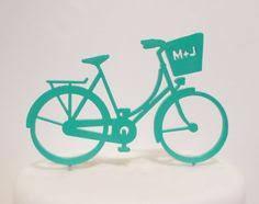 bicycle cake topper bike mania custom wedding cake topper gift by annacrafts