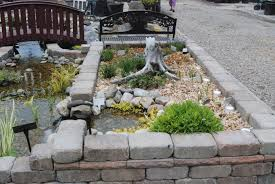 Patio Fountains Diy by Pond How To Build Beautiful Above Ground Pond With Simple Design
