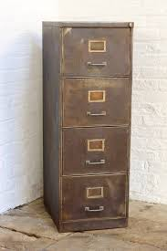 Retro Filing Cabinet Tannery Vintage Four Drawer Filing Cabinet By Grain