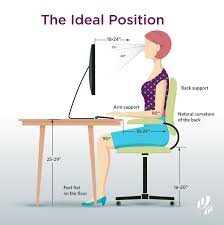 Computer Desk Posture Computer Desk Posture 356 Best Posture Images On Pinterest