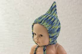 baby bands knitting pattern pixie hat pattern retro style hat knitting