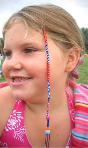 hair wraps childrens hair wraps with smiley cats