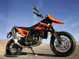 motocross street bike 2007 ktm 690 supermoto first ride motorcycle usa