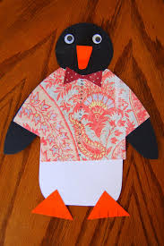 penguin craft template find craft ideas