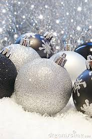 black and silver decorations ideas
