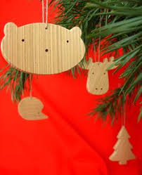 Wooden Toy Christmas Tree Decorations - wooden toy reindeer fawn and christmas tree christmas mielasiela