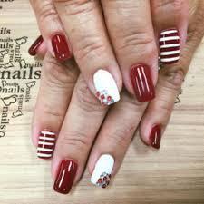 nail art black stiletto peek boo nail art sensational best salons