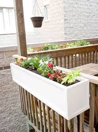 diy flower boxes think we u0027ll do this on the front deck