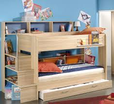 Bunk Bed For Girl by Beautiful Kid Bedroom Plus Blue Red Tent Oak Wood Boy Bunk Bed W