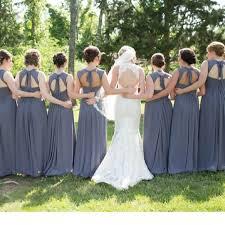 bill levkoff 485 bridesmaid dress in pewter bill levkoff