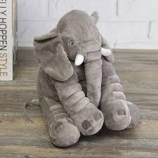 aliexpress com buy plush baby soft elephant sleep pillow large