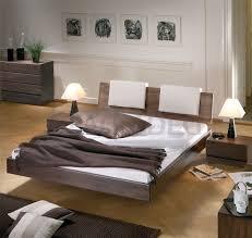 Solid Wood Beds Hasena Woodline Vilo Varus Solid Wood Floating - Beechwood bedroom furniture