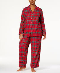 family pajamas plus size s brinkley plaid pajama set