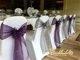 diy chair sashes colorful organza wedding chair sash diy table runner swag wedding