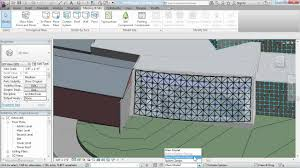 revit architecture tutorial working with curtain panels lynda