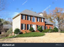 Style House by Georgian Style House Stock Photo 66408217 Shutterstock