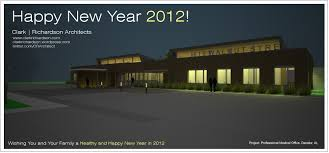 real estate new years cards happy new year 2012 clark richardson architecture