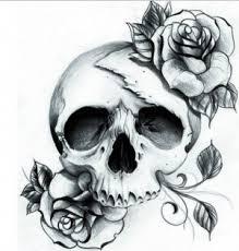 beautiful skull design by shattered baby on deviantart