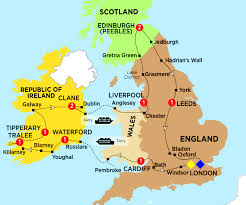 Leeds England Map by Britain And Ireland Experience Summer 2017