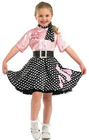 fun shack child 50s rock n roll costume age 4 6 yrs s