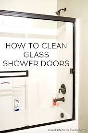 How To Clean Shower Door Tracks How To Remove Shower Doors Schreibtisch Me