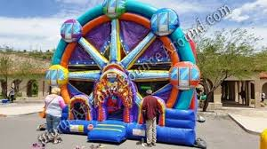 bouncy house rentals ferris wheel bounce house rentals carnival themed