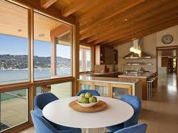 Opening Kitchen To Dining Room Shaped Kitchen Dining Room Listed In Open Kitchen Plan Home Design