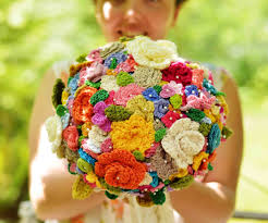 crochet your wedding bouquet 3 steps with pictures