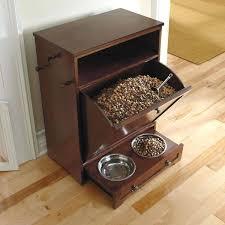 Food Storage Cabinet Dog Food Storage Cabinet Plans Pet With Bowls Gammaphibetaocu Com