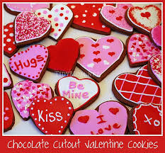 valentines chocolate chocolate cutout cookies tidymom