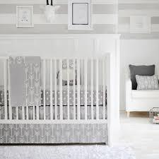 Baby Nursery Bedding Sets Neutral Out And About Gray Crib Bedding Set Rosenberryrooms
