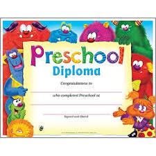 preschool certificates preschool diploma friends pk k certificates diplomas