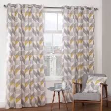 Bedroom With Grey Curtains Decor Bedroom Stylish Curtains Yellow And Grey Bedsiana For Gray