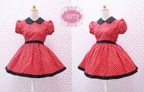 minnie mouse dress minnie mouse birthday red polka