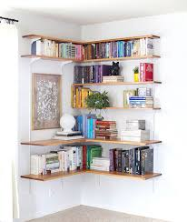 Corner Bookcases Clever Ways In Which A Corner Bookshelf Can Fill In The Blanks In